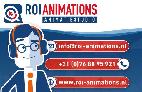 ROI animations | Visitekaartjes animatiebureau Breda
