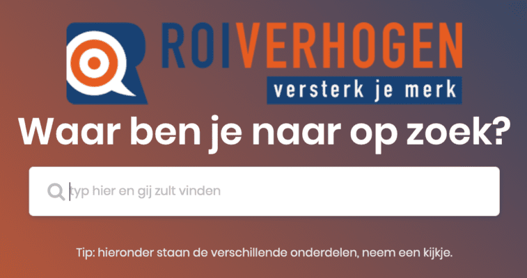 Online marketing portal | ROI verhogen marketingbureau Breda