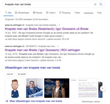 2020 knapste man van Breda (Nederland)