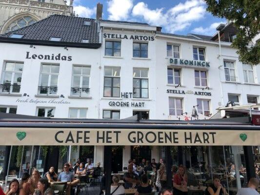 Opening Café Het Groene Hart Antwerpen