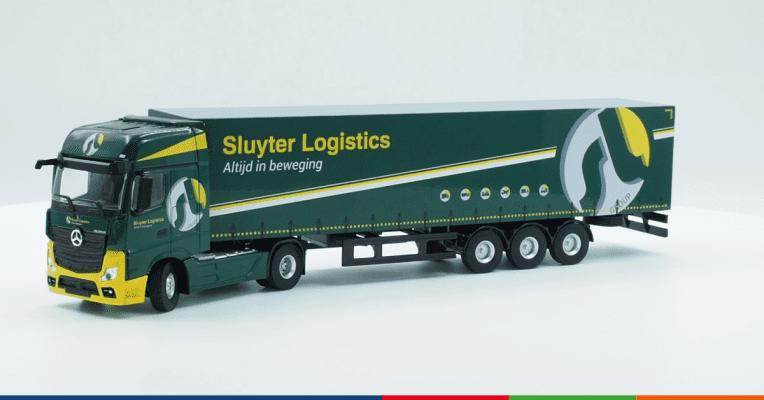 Creatives - Sluyter Logistcs Trailer Design | ROI verhogen