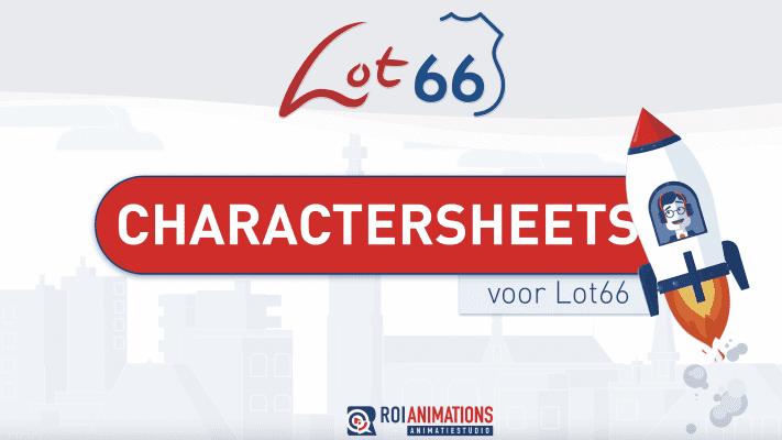 Mascotte ontwerp animatiestudio ROI animations Breda